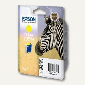 Epson Tintenpatrone, gelb, C13T07444010