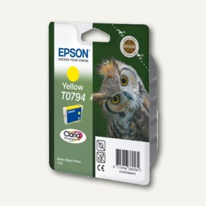 Epson Tintenpatrone T0794, gelb, C13T07944010