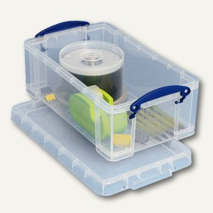 Aufbewahrungsbox 5 Liter, 285 x 160 x 105 mm, transparent, 5 Stück, 5C