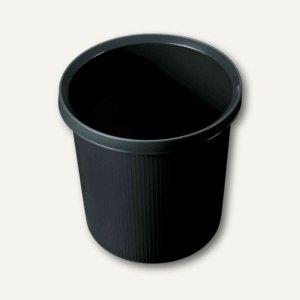 """Helit Objekt-Papierkorb """"Linear"""", 18 Liter, schwarz, H61057.95"""