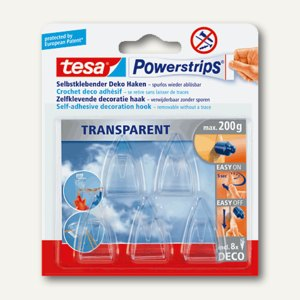 Powerstrips transparent