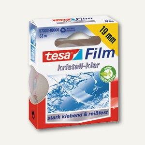 Tesa Film kristall-klar, 33 m x 19 mm, PP, reißfest, 57330-00000-02