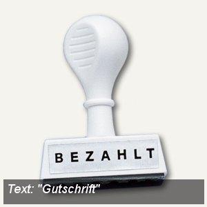 Textstempel GUTSCHRIFT