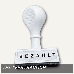 """Wedo Textstempel """"VERTRAULICH"""", 193 26"""