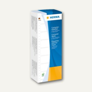 Herma Computeretiketten, endlos, 73.66 x 10.3 mm, 1-bahnig, 12.000 St., 8202