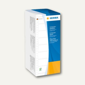 Herma Computeretiketten, endlos, 127 x 35.7 mm, 1-bahnig, 4.000 St., 8218