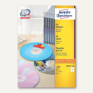 CD-Etiketten ClassicSize