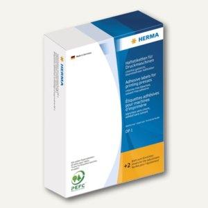 Herma Haftetiketten für Druckmaschinen DP1, 34 x 53 mm, blau, 2.500 St., 2953