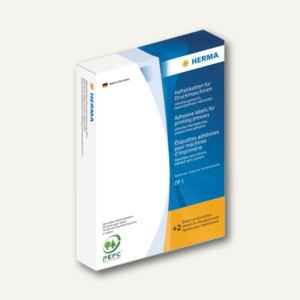 Herma Haftetiketten für Druckmaschinen DP1, 52 x 82 mm, weiß, 1.000 Stück, 2970