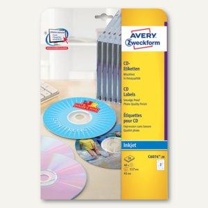 Artikelbild: Inkjet CD-Etiketten ClassicSize