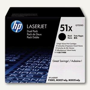 Lasertoner 51X 2 x 13.000 Seiten