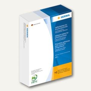 Herma Ringetiketten, 49 x 10 mm, für Druckmaschinen DP1, weiß, 5.000 St., 2990