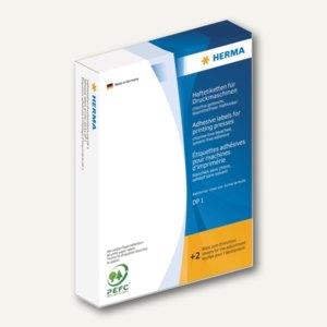 Herma Haftetiketten für Druckmaschinen DP1, ø 32 mm, weiß, 5.000 Stück, 2760