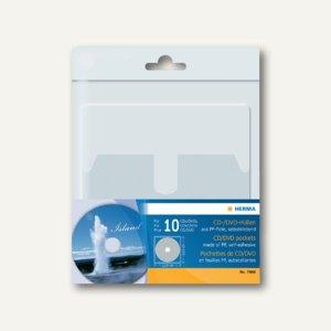 Herma CD/DVD-Hüllen selbstklebend, 129 x 130 mm, 50 Hüllen, 7688