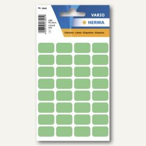 Herma Vielzweck-Etiketten, 12 x 19 mm, grün, 10 x 160 Stück, 3645
