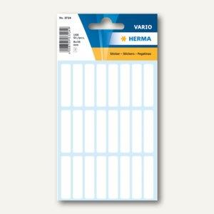 Herma Vielzweck-Etiketten f. Dias, Handbeschrift., 8x36mm, weiß, 10x 168St.,3724