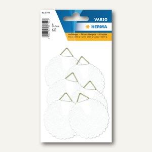 Herma Bildaufhänger wasserlöslich gummiert, 45 mm, 10 x 6 Stück, 5749