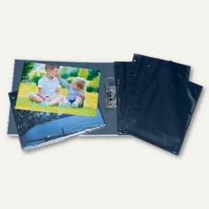 Herma Fotophan-Sichthüllen, 20x30cm, 2x hoch, schwarz, 40 Hüllen, 7788