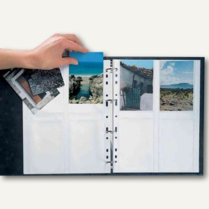 Herma Fotophan-Sichthüllen, 10 x 15 cm, hoch, weiß, 250 Hüllen, 7562