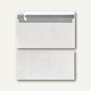 Herlitz Office Briefumschläge DL, haftklebend, 75 g/m² weiß, 100 St., 764266