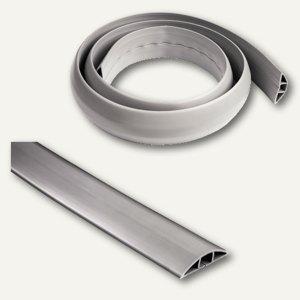 Hama Kabelkanal Flexkana, für Kabel, 1.8 m, grau, bis 12 mm, 20596