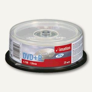imation DVD+R Rohlinge, 4.7 GB, 16x Speed, 25er Spindel, 21749
