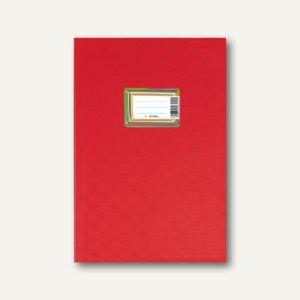 Herma Heftschoner DIN A6 hoch, PP, rot gedeckt, 50 Stück, 7402