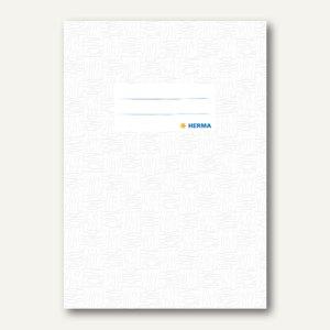 Herma Heftschoner DIN A5, PP, weiß gedeckt, 50 Stück, 7420
