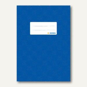 Herma Heftschoner DIN A5, PP, dunkelblau gedeckt, 50 Stück, 7423