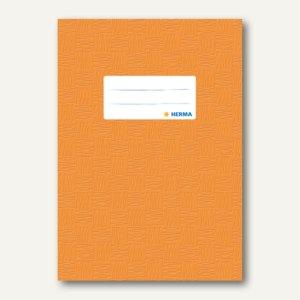 Herma Heftschoner DIN A5, PP, orange gedeckt, 50 Stück, 7424