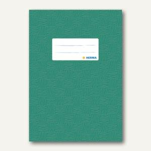 Herma Heftschoner DIN A5, PP, dunkelgrün gedeckt, 50 Stück, 7425