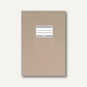 Herma Heftschoner DIN A5, PP, grau gedeckt, 50 Stück, 7428