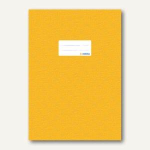 Herma Heftschoner DIN A4, PP, gelb gedeckt, 50 Stück, 7441