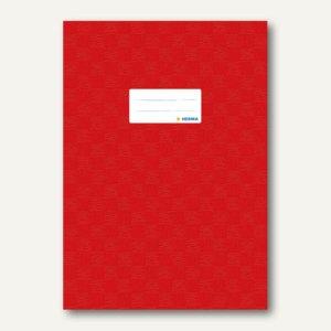 Herma Heftschoner DIN A4, PP, rot gedeckt, 50 Stück, 7442