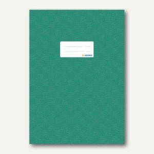 Herma Heftschoner DIN A4, PP, dunkelgrün gedeckt, 50 Stück, 7445
