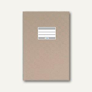 Herma Heftschoner DIN A4, PP, grau gedeckt, 50 Stück, 7448