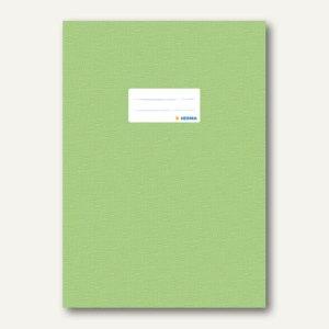 Herma Heftschoner DIN A4, PP, hellgrün gedeckt, 50 Stück, 7455