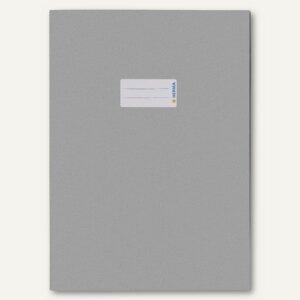 Herma Heftschoner Papier DIN A4 hellgrau 100% Altpapier, 50 Stück, 5528