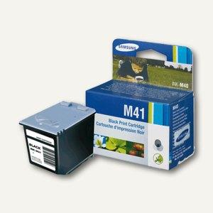 Samsung Tintenpatrone M41, schwarz, 750 Seiten, INK-M41/ELS