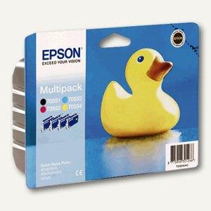 Epson Tintenpatronen Multipack, 4-farbig, C13T05564010