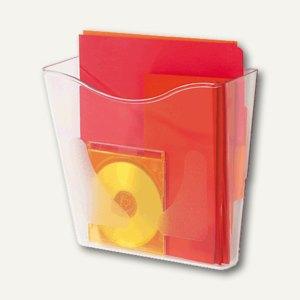 deflect.o Wandprospekthalter hoch, Plexiglas glasklar, CP078YT