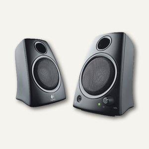 Logitech Lautsprecher Z130, schwarz, 2 Stück, 980-000418