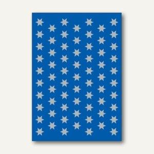 Herma Schmucketiketten, Sterne, Weihnachten, Folie, silber, 8mm, 10x3 Bl., 4058