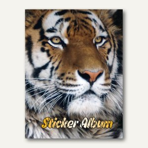 Stickeralbum Tiger DIN A5