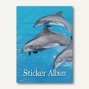 Herma Stickeralbum, Delfine, DIN A5 Hochformat, 10 Stück, 6687