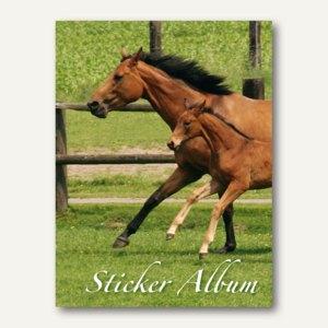 Stickeralbum Pferd DIN A5
