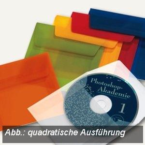 Briefumschlag DIN C5, haftklebend, 100g/m² transparent-blau, 100St., 1959684850
