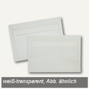 Transparente Briefhüllen C6