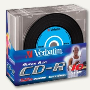 CD-R Rohlinge Super AZO Data Vinyl