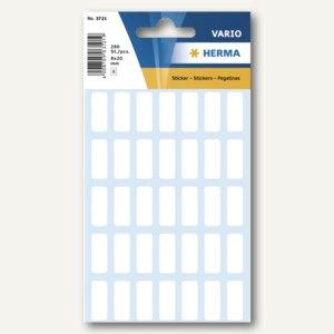 Herma Vielzweck-Etiketten, 8 x 20 mm, weiß, 10 x 280 Stück, 3721